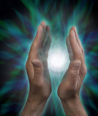 Hands Generating Energy