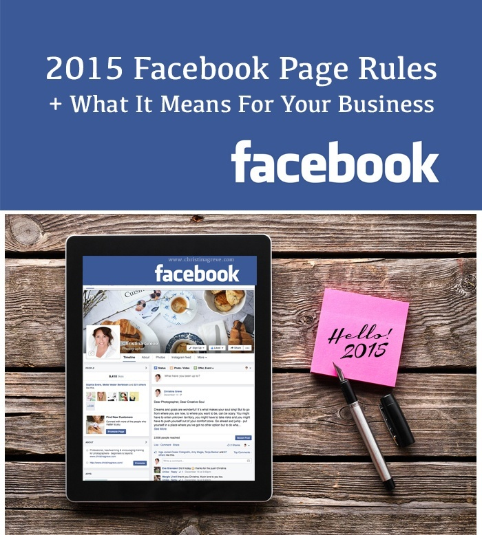 7 steps to rise above 2015 Facebook rules in your business